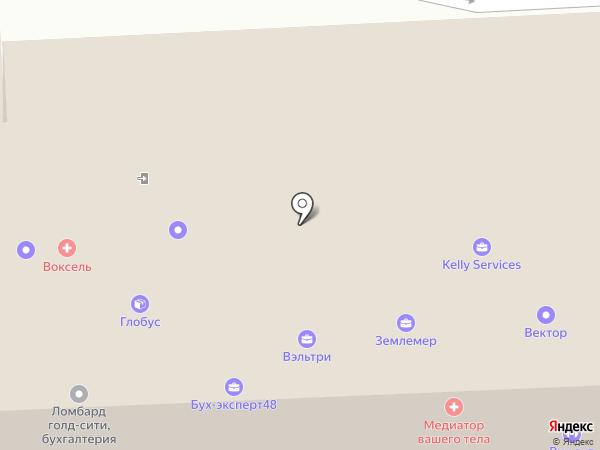 Флагман-тур на карте Липецка