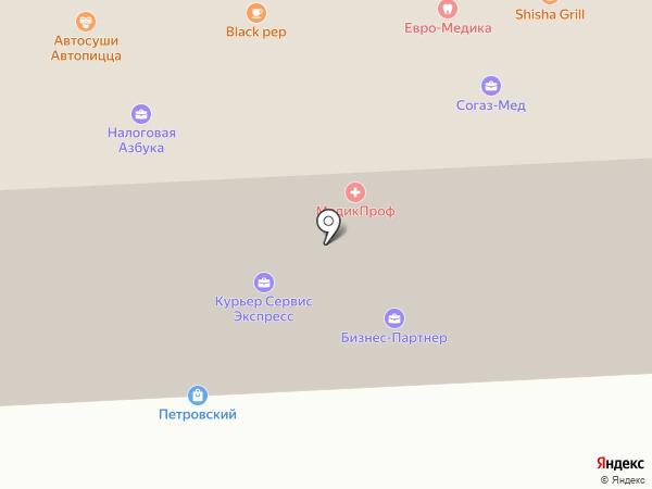ТахоДрайвер на карте Липецка