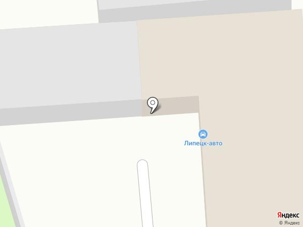 САК-Л на карте Липецка