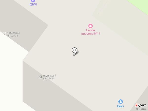 Аистёнок на карте Липецка