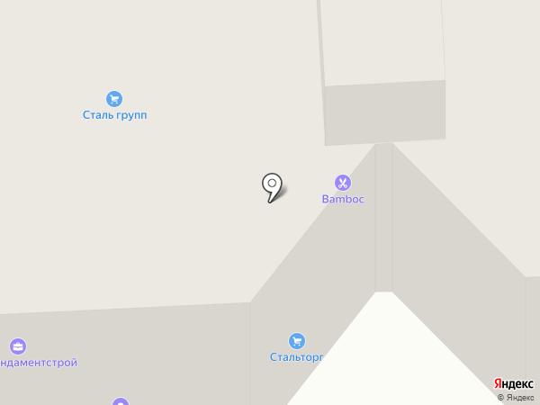 Спецфундаментстрой-Инвест на карте Липецка