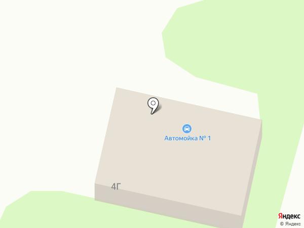 Автомоечный комплекс #1 на карте Липецка