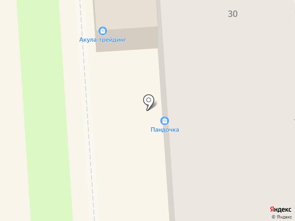 Мерси на карте Липецка