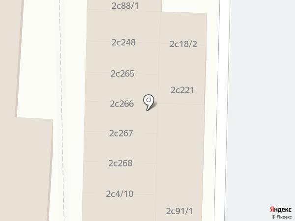 Киоск по продаже фастфудной продукции на карте Липецка