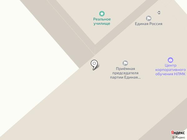 Хлебная лавка на карте Липецка