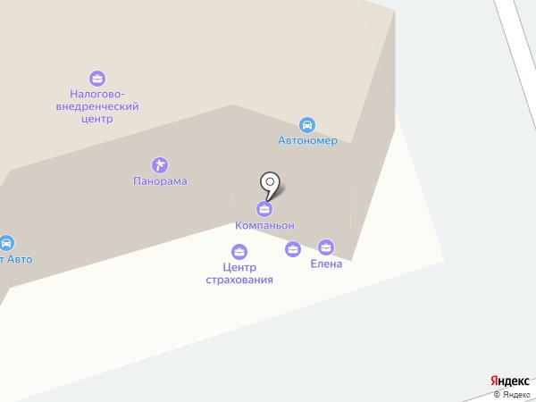 Центр автострахования на карте Липецка