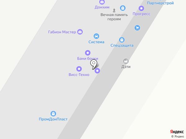 Эксайт Строй на карте Ростова-на-Дону