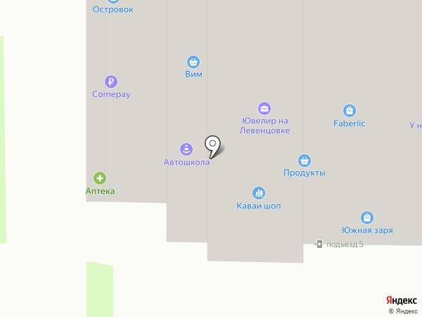 ЛАТ на карте Ростова-на-Дону