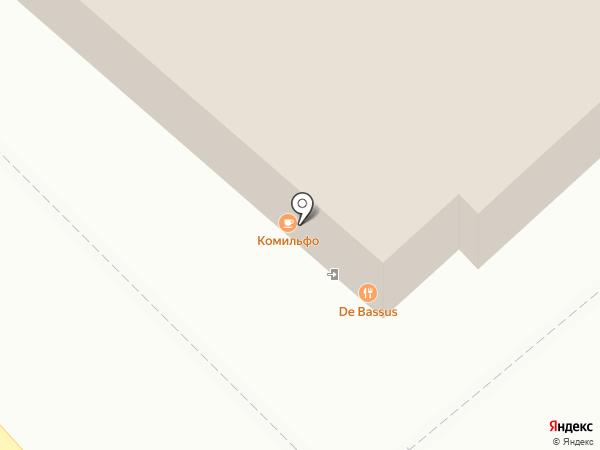 Центральная столовая на карте Липецка