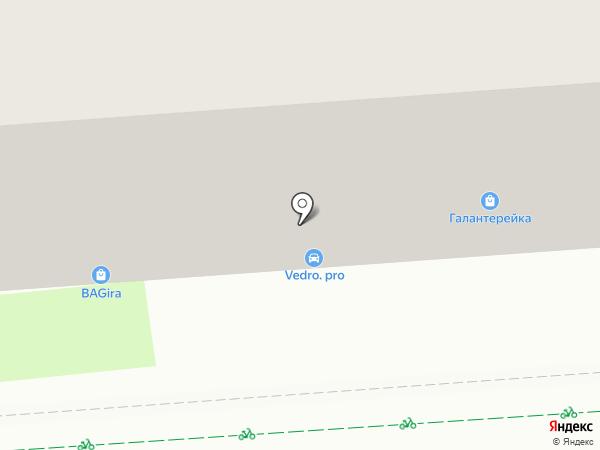 Стройняшка на карте Липецка