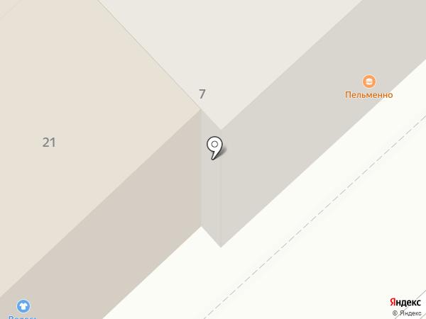 Зеленый кролик на карте Липецка