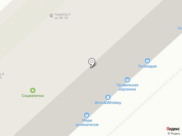 Маус Хаус на карте Липецка