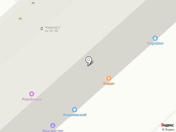 Росгосстрах банк, ПАО на карте Липецка