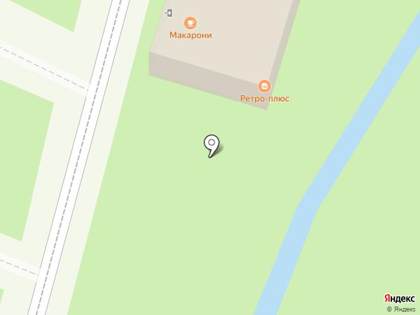 Ретро-плюс на карте Липецка