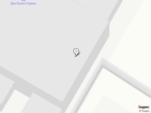 ДонСтройТехСнаб на карте Ростова-на-Дону