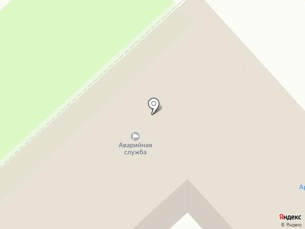 Арсенал на карте Липецка