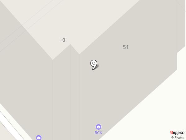 Ева на карте Липецка