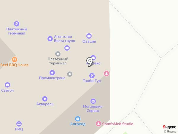 Трансформер Групп на карте Липецка