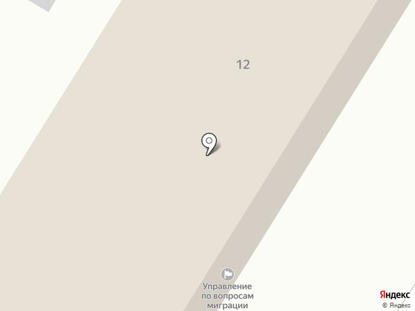 Центр временного содержания иностранных граждан на карте Липецка