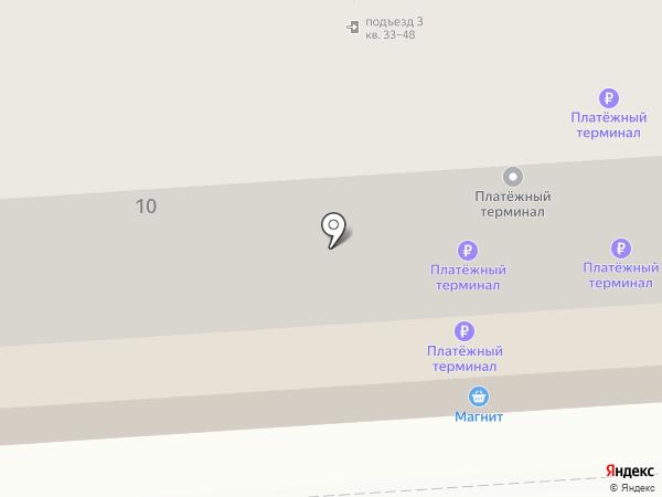 Навитроника на карте Липецка