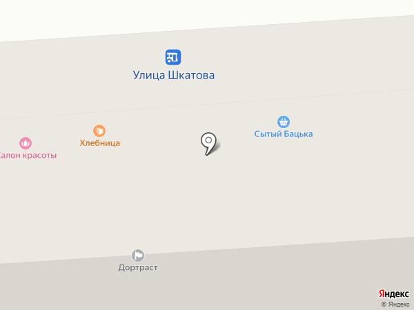 Хлебница на карте Липецка
