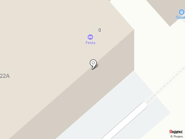 Festa на карте Липецка