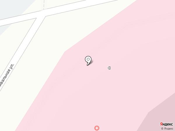 Областной кожно-венерологический диспансер на карте Липецка