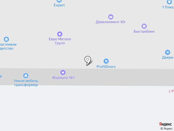 IT Легион на карте Ростова-на-Дону
