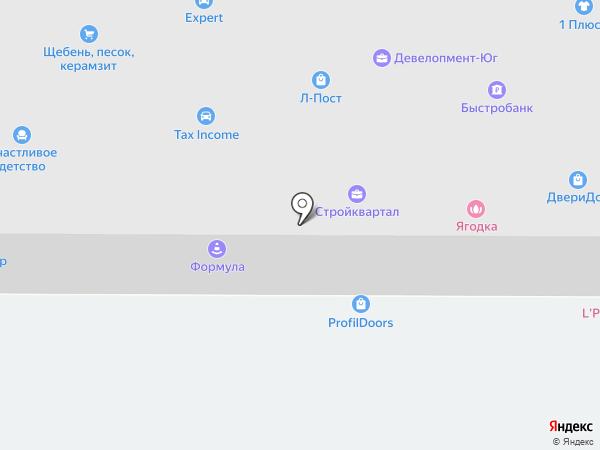 Престиж на карте Ростова-на-Дону