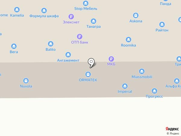 Люксдекор на карте Ростова-на-Дону
