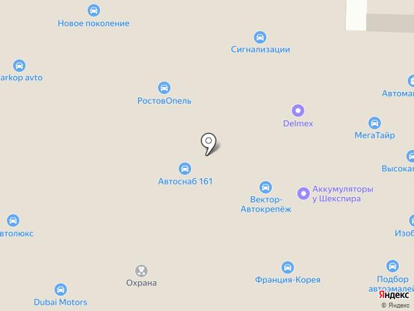 Ключ-Сервис на карте Ростова-на-Дону