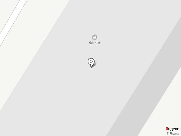 Фиант на карте Липецка