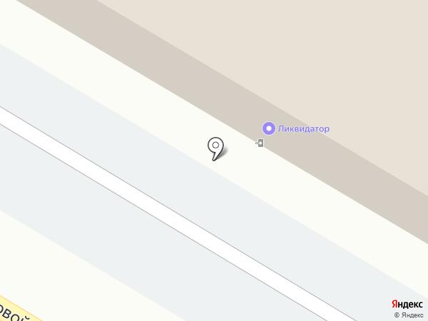 Ликвидатор на карте Липецка