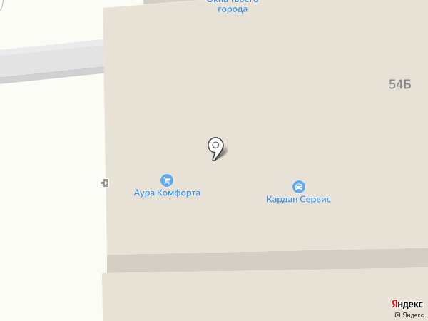 Святобор на карте Ростова-на-Дону