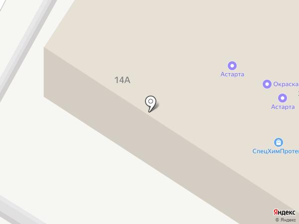 Титан 2009 на карте Липецка