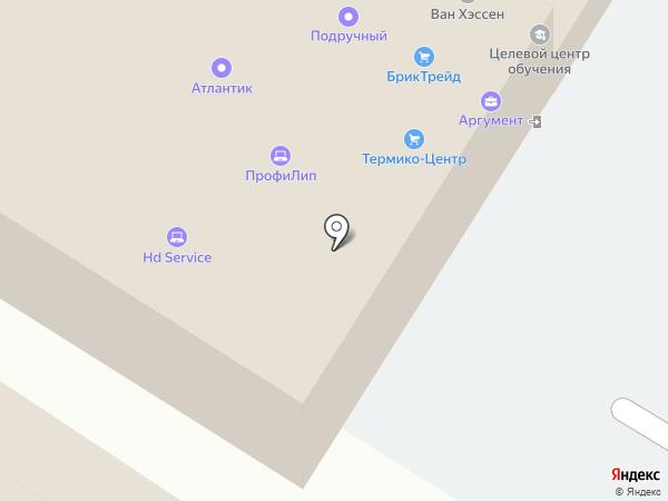 Европарк на карте Липецка