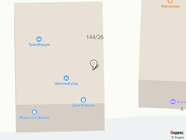 Автосервис на карте Ростова-на-Дону