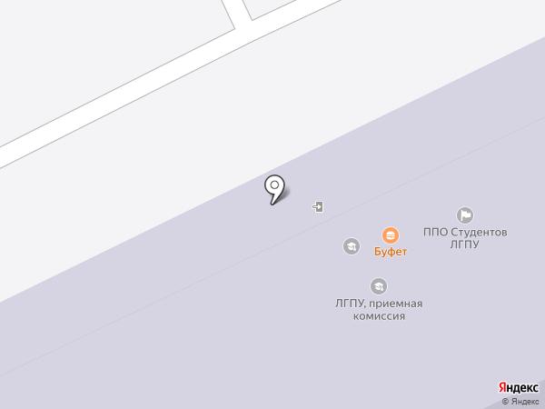 Студенческая на карте Липецка