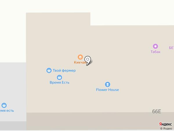 Коском на карте Ростова-на-Дону