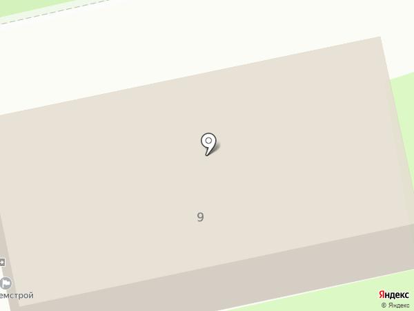 Мирамед на карте Липецка