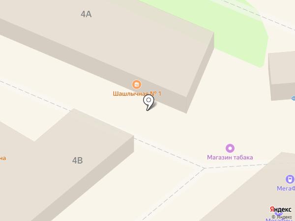 Магазин табачных изделий на карте Липецка