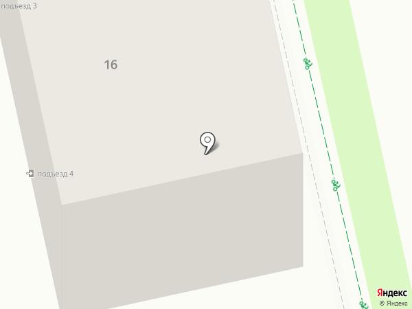 КрасиваЯ на карте Липецка