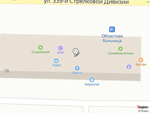 Сели поели на карте Ростова-на-Дону