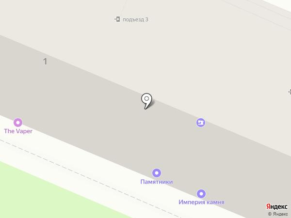Тамбовчанка на карте Липецка