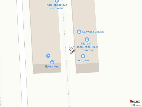 Магазин хлебобулочных изделий на карте Ростова-на-Дону
