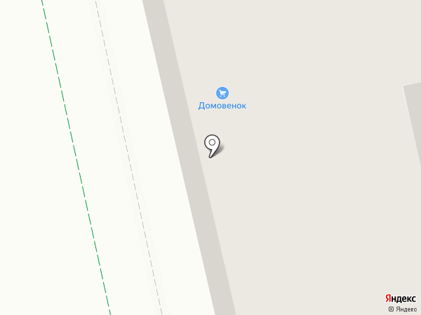 Домовенок на карте Липецка