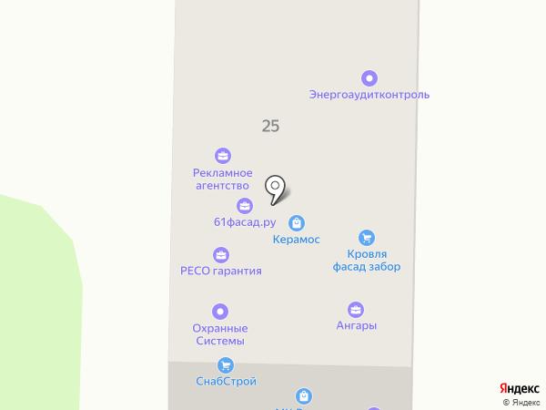 Линкор на карте Ростова-на-Дону