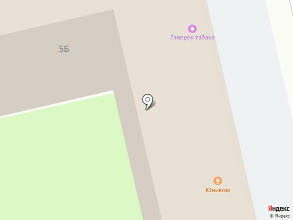 Табачный магазин на карте Липецка