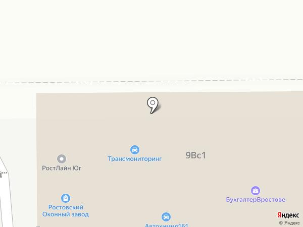 Соколов Д.А. на карте Ростова-на-Дону