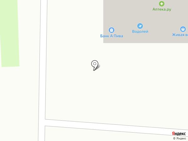 Краснорыбин на карте Ростова-на-Дону
